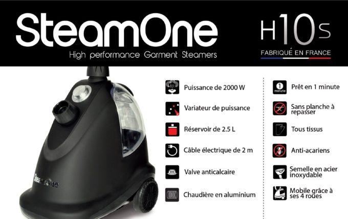 steamone h10s avis test de ce defroisseur vapeur vertical. Black Bedroom Furniture Sets. Home Design Ideas